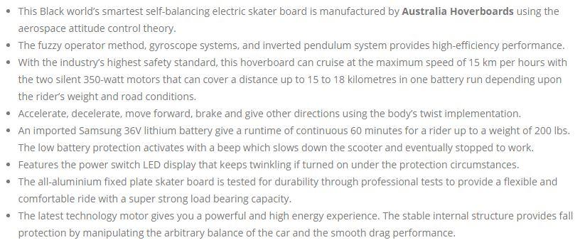 stylish black hoverboard8