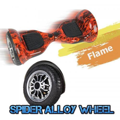 10 inch hoverboard flame5
