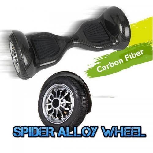 10 inch carbon black hoverboard2