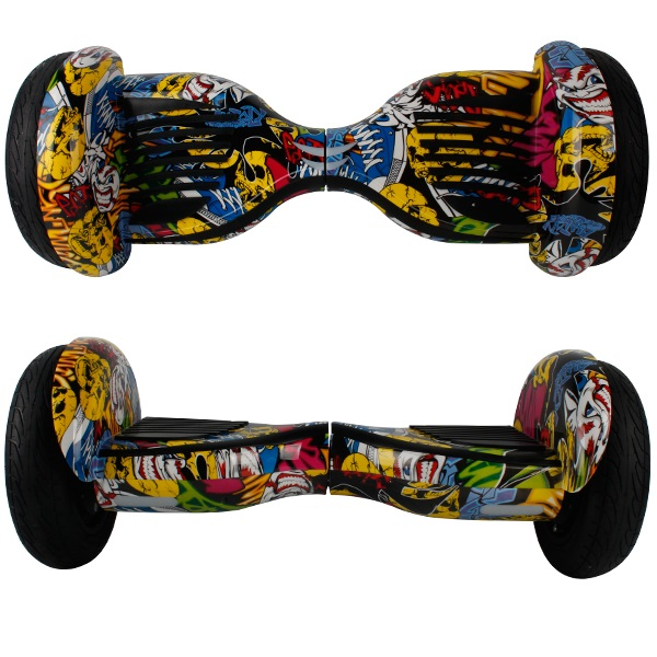 10 inch hoverboard graffiti2