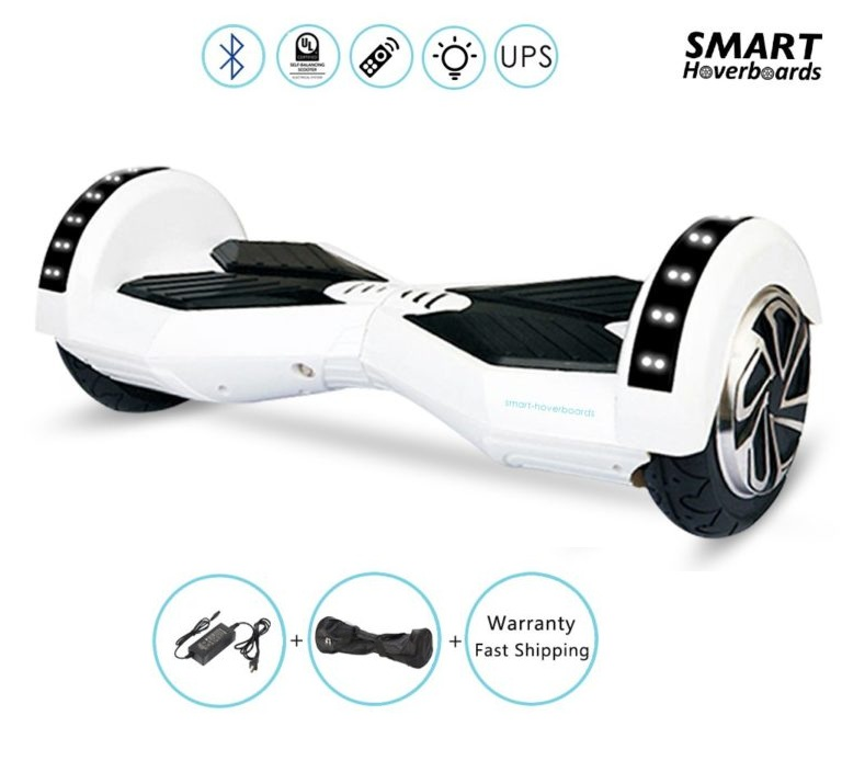 white 8 inch hoverboard