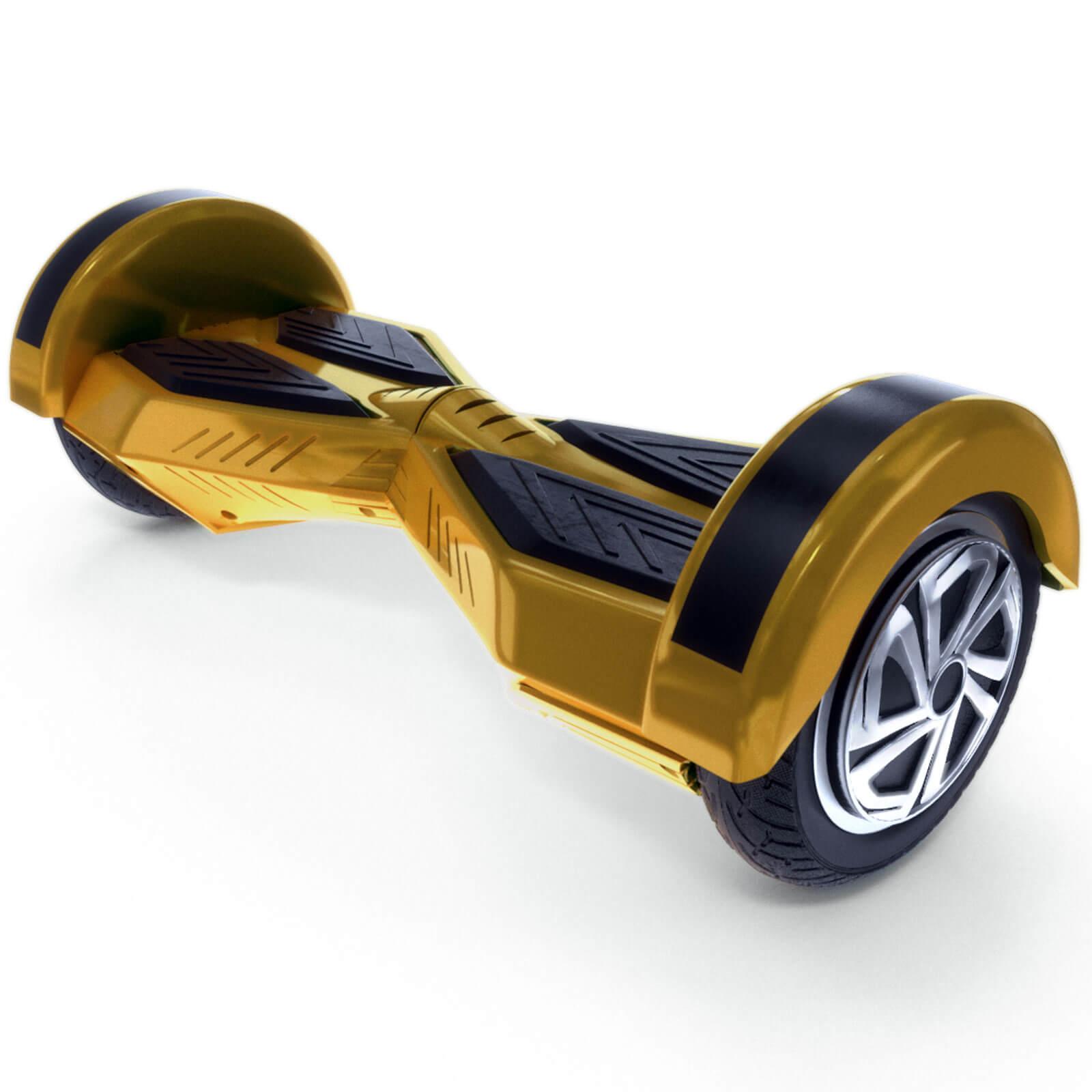 Gold Color Lamborghini Style Hoverboard1